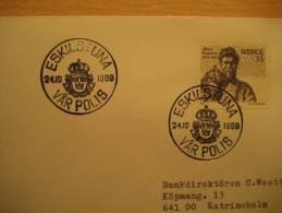 SWEDEN Eskilstuna 1969 Var Polis Policeman Patrolman Police Polizei Policia Gendarmerie Polizia - Police - Gendarmerie