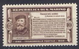 San Marino 1932 Sass.168 */MLH VF - Unused Stamps