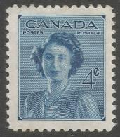 Canada. 1948 Princess Elizabeth´s Marriage. 4c MH - Unused Stamps