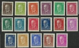 ESTLAND Estonia Estonie 1936-1940 Präsident Konstantin Päts * - Estonie