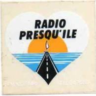 Autocollant Radio - Radio Presqu'ile FM 100.3 Mhz - Stickers