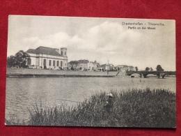 AK Diedenhofen Partie An Der Mosel Thionville Feldpost 1914 - Thionville