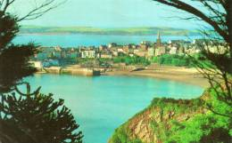 33068    Regno  Unito,   Galles   -  Tendby  And  Caldey  Island  From  North  Cliff,  VG  1975 - Pembrokeshire