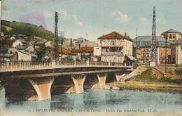 CPA-1938-57-MOYEUVRE GRANDE-PONT DE L ORNE-ENTREE RUE MARECHAL FOCH-TB E - Other Municipalities