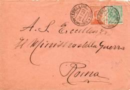1920  LETTERA CON ANNULLO   MONTEBELLUNA TREVISO - 1900-44 Vittorio Emanuele III
