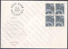 SUISSE, SWITZERLAND, SCHWEIZ - EUROPA CEPT 1967 - 13.03.1967 - FDC - FDC