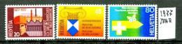 SVIZZERA - Serie  Completa - Year 1977 - MNH**- Nuovi - News. - Svizzera