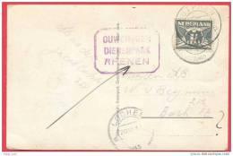 Rhenen  Photograph Vintage 1943 Ouwehand´s Dierenpark Grebbeberg Zutphen Postmark Elephant Children