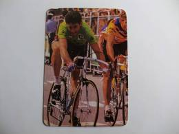 Cycling/Cyclisme Tour De France Sean Kelly Portuguese Pocket Calendar 1986 - Calendriers