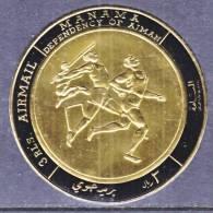 Manama 226   **  SPORTS TRACK  JAVILINE  RUNNING    GOLD FOIL - Manama