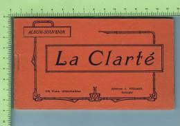 Carnet Complet FRANCE FINESTERE ( Colonnie  La Clarté   10  Vues Détachables ) Editeur J. Villard Quimper - Douarnenez