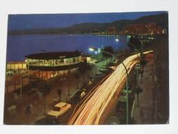 CROTONE - Lungomare Di Notte - Auto - Crotone