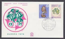 CEPT Europa - FDC 1976 - Monaco - MiNr. 1230-1231 - Europa-CEPT