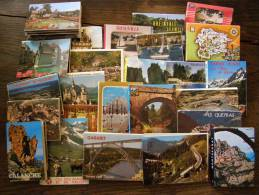 """- CPM VRAC - Lot De 25 Carnets """"accordéon"""" & Autres De Cartes Modernes Couleur - 100 - 499 Karten"""