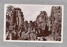 32853     Cambodge  -  Angkor  Thom  -  Le  Baion  Sur  La  Terrasse  Superieure,  NV - Cambogia