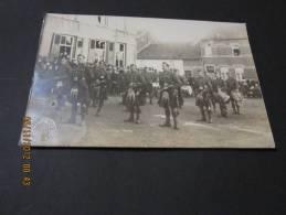 Photo Riginal Régiment Soldats écosais A Luttre WWI - Regiments