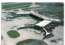 B71812 Aeroport De Paris L Aerogare D Orly Ouest  Plane Avion     2 Scans - Aérodromes