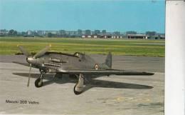 B71719  Macchi 203 Veltro    Avion Plane     2 Scans - 1946-....: Moderne