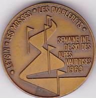 Insigne Montagne Ski Semaine International Des Alpes Vaudoises 1969 - Andere
