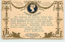PARIS - ED Pinaud, 18 Place Vendôme,Publicité Parfums Marie Louise. - Arrondissement: 01