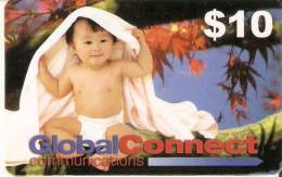 TARJETA DE AUSTRALIA DE GLOBAL CONNECT DE $10 DE UN NIÑO - Australia