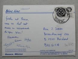 30/639  CP  POUR LA BELG - Mexique