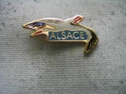 Pin´s Cigogne D'Alsace - Animaux