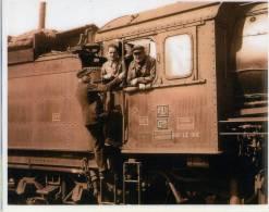 SNCF  - Photo Reproduction- Dernière Locomotive à Vapeur Retirée En 1969 - France