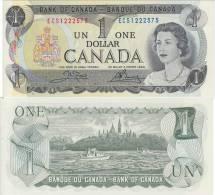 CANADA ***** BILLET 1 DOLLAR - ONE DOLLAR - ALMOST UNC - PRESQUE NEUF ***** EN ACHAT IMMEDIAT - Canada