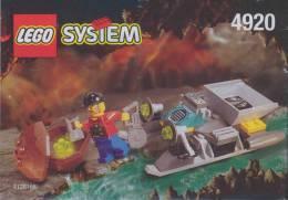 Plan Lego System 4920  Rock Raiders De 1999 - Planos