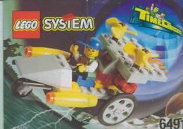 Plan Lego System 6491  Time Cruisers  De 1996 - Plans