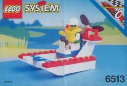 Plan Lego System 6513     De 1993 - Plans