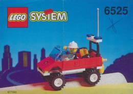 Plan Lego System 6525  Pompiers     De 1995 - Plans
