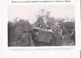 DEUX JUMEAUX SERBES AGES DE 7 ANS . ILS ONT SUIVI  LA RETRAITE DE L'ARMEE SERBE . ILS SONT MAINTENANT A ST JEAN DE MEDUA - Albania