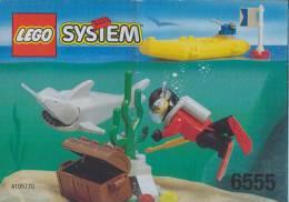Plan Lego System 6555  Plongeur  De 1997 - Plans