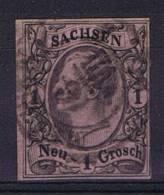 Deutschland: Sachsen Mi  9 II C, Used/cancelled