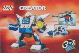 Plan Lego System  4917  Mini Robot  De 2007 - Plans