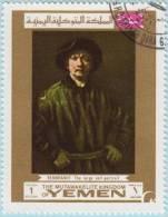 1969 - YEMEN - Y&T 275A - Rembrandt Harmenszoon Van Rijn (1606-1669) - Yémen