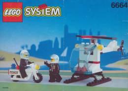 Plan Lego System  6664  Police  De 1993 - Plans