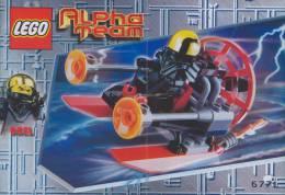 Plan Lego System  6771  Alpha Team  De 2001 - Plans