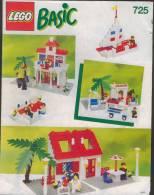 Plan  Lego System 725  Basic  De 1990 - Planos
