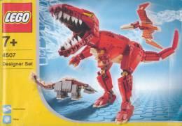 Plan  Lego System 4507  Prehistoire  De  2004 - Plans