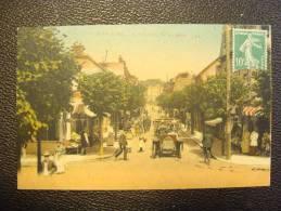 CPA CABOURG L'avenue De La Mer Voiture Ancienne Belle Animation - Cabourg