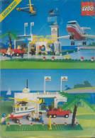 Plan  Lego System 6396  Airport   De 1990 - Plans
