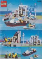 Plan  Lego System 6540  Police  De 1991 - Plans