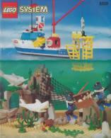 Plan  Lego System 6558  Shark Cage De 1997 - Plans
