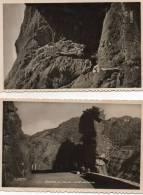 [06] Alpes Maritimes- Lot  De 2 Cartes Cpsm GORGES De DALUIS  (Le Pont De La Mariée;La Tête De Femme)(Guillaumes Cians) - France