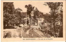 Saint-Simon. Un Coin De La Pradelle. - France