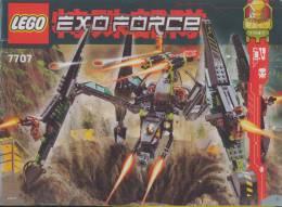 Plan  Lego System 7707  Exoforce - Plans