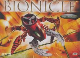 Plan  Lego Technic 8742  Bionicle Vohtarak  De 2005 - Plans